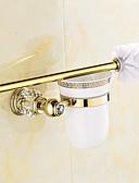 preiswerte Damen Schals-WC-Rollenhalter Moderne Messing 1 Stück - Hotelbad