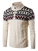 cheap Men's Shirts-Men's Sports Long Sleeves Pullover - Color Block