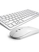 billige Brudepigekjoler-Trådløs Mus tastatur combo AAA Batteri Kontor-tastatur Kontormus 4 pcs