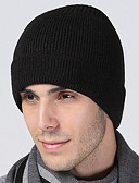 abordables Sombreros de  Moda-Hombre Gorro - Vintage Trabajo Un Color