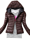 cheap Women's Downs & Parkas-Women's Plus Size Padded - Solid Colored, Classic Style Hooded / Winter