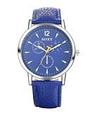 abordables Relojes de Vestir-Hombre Reloj de Pulsera Resistente al Agua Piel Banda Casual / Moda / Reloj de Vestir Negro / Blanco / Azul