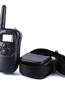 cheap Men's Underwear & Socks-Dog Bark Collar Dog Training Collars Anti Bark 300M Remote Control Electronic/Electric LCD Display Shock/Vibration Solid Plastic Black