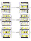 abordables Relojes de Moda-6pcs 250-300lm R7S Focos LED Tubo 24 Cuentas LED SMD 5730 Decorativa Blanco Cálido Blanco Fresco 85-265V 220-240V