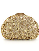 preiswerte Brautmutter Kleider-Damen Taschen Metal Abendtasche Crystal / Strass Silber / Rot / Golden / Strass Kristall Abendtaschen
