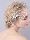 ieftine Pantaloni de Damă-Imitație de Perle / Aliaj Îmbrăcăminte de păr cu 1 Nuntă / Ocazie specială Diadema