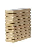 billige Hatter til herrer-10 pcs 30*10*3mm Magnetiske leker Byggeklosser Puzzle Cube Neodym-magnet Voksne Gutt Jente Leketøy Gave