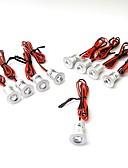 abordables Guantes-ONDENN 120 LED Fácil Instalación Luz Empotrada Impermeable Decorativa Luces LED de Armario Blanco Cálido Blanco Fresco DC 12VV