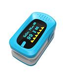 abordables Tops de Mujeres-pantalla manual de oxímetros de pulso lcd ying shi con la batería de almacenamiento de voz / de memoria blanco / rojo / verde / azul / naranja