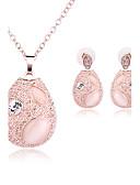 baratos Chaveiros de Lembrancinha-Mulheres Opal Synthetic Conjunto de jóias - Opala Incluir Dourado / Rosa claro Para Casamento Festa