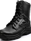 זול כובעים אופנתיים-יוניסקס נעליים עור אביב קיץ סתיו חורף מגפיי קרב מגפיים מגפיים אופנתיים קאובוי / מגפיים מערביים נוחות מגפיים טיפוס ל אתלטי קזו'אל בָּחוּץ