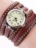 cheap Quartz Watches-Women's Bracelet Watch Wrist Watch Quartz Black / White / Blue Cool Punk Analog Ladies Charm Sparkle Vintage Dot - Red Green Blue