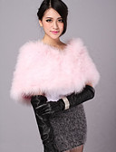 cheap Wedding Wraps-Feather / Fur Wedding / Party Evening / Casual Wedding  Wraps / Fur Wraps With Shrugs