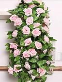 Χαμηλού Κόστους Νυφικά-Ψεύτικα λουλούδια 1 Κλαδί Ποιμενικό Στυλ Τριαντάφυλλα Λουλούδι Τοίχου
