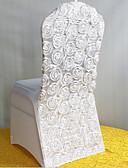 baratos Vestidos para Madrinhas-Casamento / Festa Poliéster Decorações do casamento Tema Clássico Todas as Estações