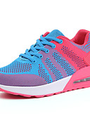 abordables Pantalones para Mujer-Mujer Zapatos Tul Primavera / Verano / Otoño Creepers Zapatillas de Atletismo Paseo Plataforma Dedo redondo Con Cordón Gris oscuro / Rosa