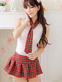 preiswerte Damen Nachtwäsche-Damen Übergrössen Anzüge Uniformen & Cheongsams Besonders sexy Nachtwäsche Verziert