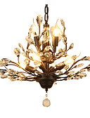 abordables Tops de Mujeres-LightMyself™ 7-luz Lámparas Araña Luz Ambiente - Cristal, LED, 110-120V / 220-240V Bombilla no incluida / 15-20㎡ / E12 / E14