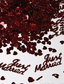 billige Junior brudepikekjoler-Konfetti og serpentiner Miljøvennlig materiale Bryllupsdekorasjoner Bryllup / Engasjement / Bryllupsfest Strand Tema / Hage Tema / Vegas Tema Vår / Sommer / Høst