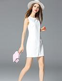 levne Dámské šaty-Dámské Pouzdro Šaty - Jednobarevné Mini