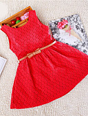 זול שמלות נשים-שמלה ללא שרוולים אחיד תחרה בנות ילדים