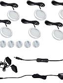 hesapli Gece Elbiseleri-ONDENN 1800lm 12 LED'ler Kolay Kurulum Su Geçirmez Dekorotif Bağlanabilir Kabin Altı Işıklar Sıcak Beyaz Serin Beyaz AC85-265V