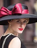 baratos Chapéus de Moda-Veludo Chapéus / Decoração de Cabelo com Floral 1pç Casamento / Ocasião Especial / Ao ar livre Capacete