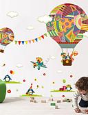 baratos Abrigos e Moletons Masculinos-Animais Moda Formas Adesivos de Parede Autocolantes de Aviões para Parede Autocolantes de Parede Decorativos, Vinil Decoração para casa