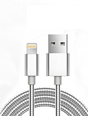 cheap Quartz Watches-USB 2.0 Normal / Braided Cable iPad / Apple / iPhone for 98 cm For Aluminum / Metal