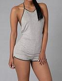 povoljno Ženski jednodijelni kostimi-Žene Slim Odjeća za igru - Otvorena leđa, Jednobojni Na vezanje oko vrata Visoki struk