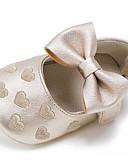 povoljno Odijela-Djevojčice Cipele za bebe Umjetna koža Ravne cipele Dječji / Dojenčadi (0-9m) Mašnica / Kopčanje na kukicu Zelen / Plava / Pink Proljeće / Jesen / Vjenčanje / Zabava i večer / Vjenčanje