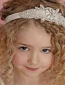 זול אביזרים לילדים-אביזרי שיער כל העונות רצועות ראש כותנה תחרה יוניסקס - לבן ורוד מסמיק בז'