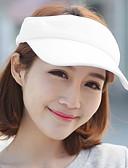 baratos Chapéus Femininos-Mulheres Férias Algodão, Chapéu de sol Sólido / Verão