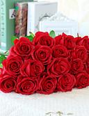 preiswerte Damen Schals-Künstliche Blumen 10 Ast Europäischer Stil Rosen Tisch-Blumen