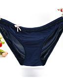 זול תחתוני נשים-בגדי ריקוד נשים אחיד תחתונים מחטבים טבעי