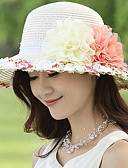 cheap Fashion Hats-Women's Street chic Sun Hat - Patchwork