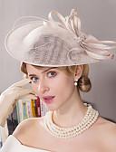 olcso Női kalapok-Len / Strassz / Soros Fascinators / Kalap / Fejfedők val vel Virág 1db Esküvő / Különleges alkalom / Szabadtéri Sisak