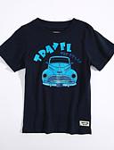 voordelige Jongensjacks & jassen-Jongens Geometrisch Korte mouw T-shirt