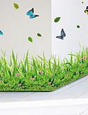 tanie Topy damskie-Dekoracyjne naklejki ścienne - Naklejki ścienne lotnicze Zwierzęta / Moda / Botaniczne Salon / Sypialnia / Łazienka