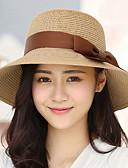 رخيصةأون قبعات نسائية-قبعة شمسية سادة أناقة الشارع للمرأة