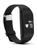 preiswerte Smart Aktivität, Clips & Armbänder-Smart-Armband iOS Android iPhone Herzschlagmonitor Wasserdicht Schrittzähler Gesundheit Distanz Messung Langes Standby Multifunktion