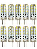 billige Undertøy og sokker til herrer-hkv 10 stk 2w 100-200lm g4 ledet to-pin lys t 24 led perler smd 3014 varm hvit kald hvit 12v