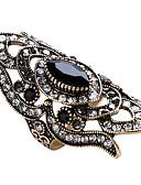 preiswerte Hemd-Damen Geometrisch Statement-Ring / Ring - Glas, Aleación Personalisiert, Luxus, Einzigartiges Design 7 / 8 / 9 Rot / Grün / Blau Für Party / Jahrestag / Geburtstag