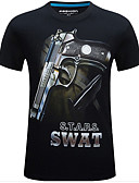abordables Pantalones para Mujer-Camiseta de caza Hombre Mujer Unisex 3D Cómodo camuflaje Top Manga Corta para Caza