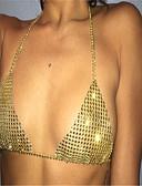 cheap Men's Belt-Body Chain Ladies, Fashion Women's Gold / Black / Silver Body Jewelry For Casual / Rhinestone