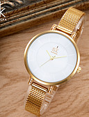 cheap Quartz Watches-SK Women's Bracelet Watch Japanese Water Resistant / Water Proof / Creative / Shock Resistant Metal / Alloy Band Charm / Luxury / Vintage Silver / Gold