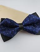 رخيصةأون ربطات العنق للرجال-ربطة العقدة جاكوارد بوليستر, حفلة / عمل / أساسي للرجال / جميل