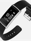 رخيصةأون ساعات رياضة-سوار الذكية N108 إلى Android iOS بلوتوث رياضات ضد الماء رصد معدل ضربات القلب شاشة لمس رمادي داكن تذكرة بالاتصال متتبع النشاط متتبع النوم تذكير المستقرة / إسبات الطويل / أجد هاتفي / ساعة منبهة