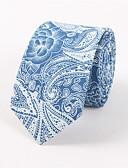tanie Rękawiczki-Męskie Neckwear Nadruk Krawat - Bawełna Rayon