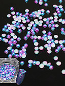 abordables Regalos de Boda-1 pcs Joyas de Uñas Perlas Encantador arte de uñas Manicura pedicura Diario Dulce / Nueva llegada / Moda / Joyería de uñas